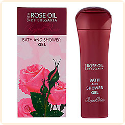 Гель для душа Rose Oil of Bulgaria REGINA FLORIS, 230 мл