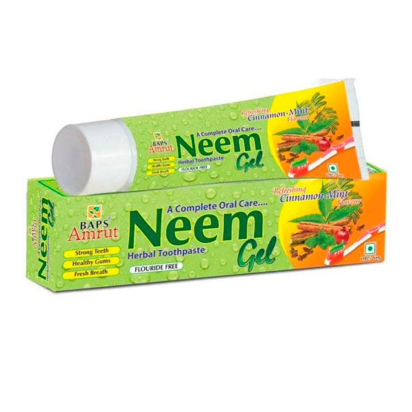 Зубная паста-гель травяная с Нимом (Neem Gel Tooth Paste), 150 г