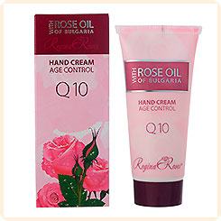 Крем для рук Q10 Rose Oil of Bulgaria REGINA FLORIS, 50 мл